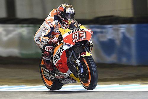 Motegi MotoGP: Marquez leads delayed morning warm-up