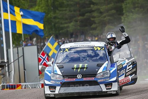 Kristoffersson gagne encore, podium pour Loeb