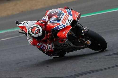 """Lorenzo: """"Ha sido mi mejor carrera con Ducati"""""""