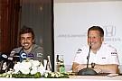 Una broma detona la participación de Fernando Alonso en Indy