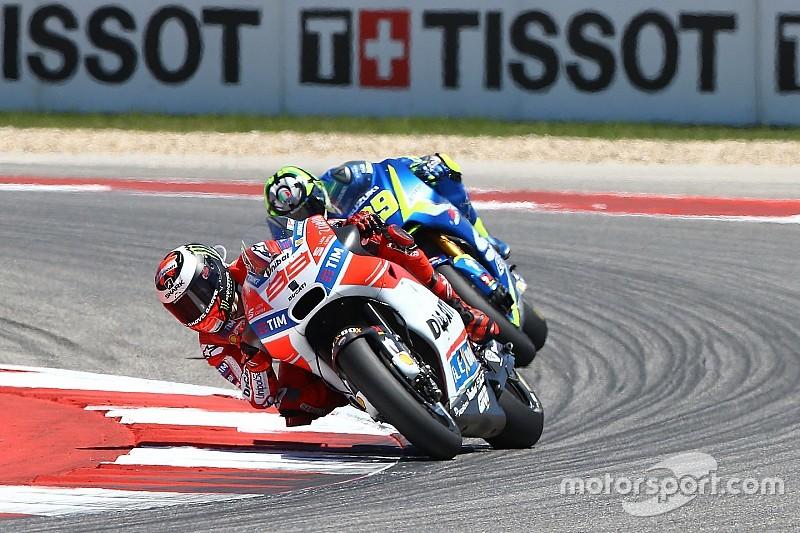 Lorenzo : Ça n'était pas parfait, mais on progresse très vite