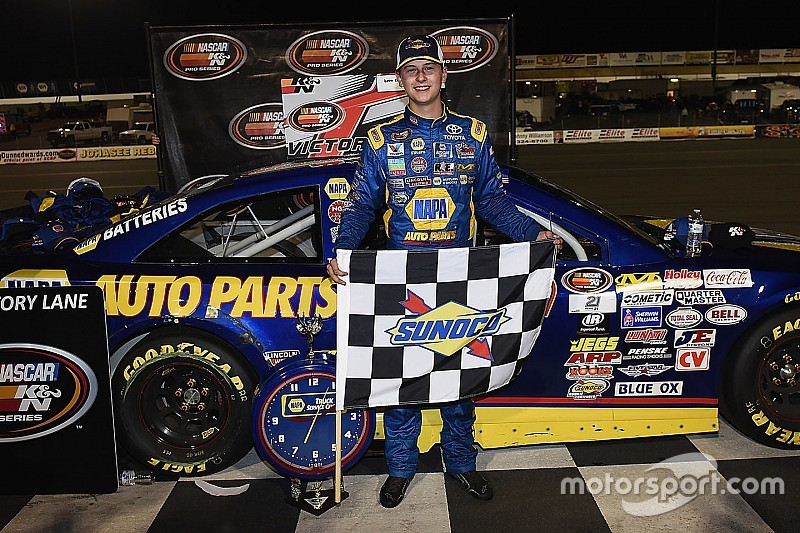 Todd Gilliland continues his quest for NASCAR titles with Iowa win