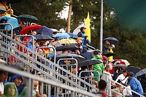 Se canceló la clasificación de la GP3 por la lluvia