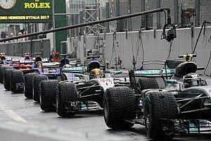 Formel 1 2017 in Monza: Startaufstellung zum GP Italien