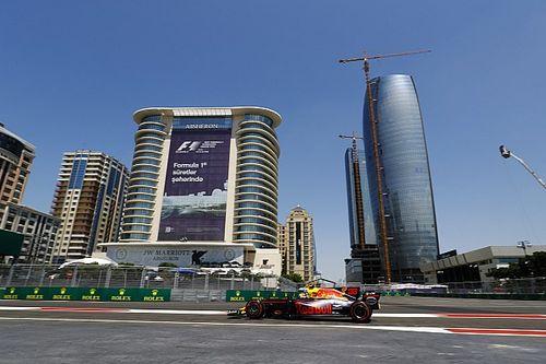 Verstappen lidera dobradinha da Red Bull no TL1 em Baku