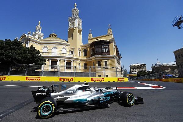 F1 阿塞拜疆大奖赛FP3:博塔斯最快,维斯塔潘与维特尔遇故障