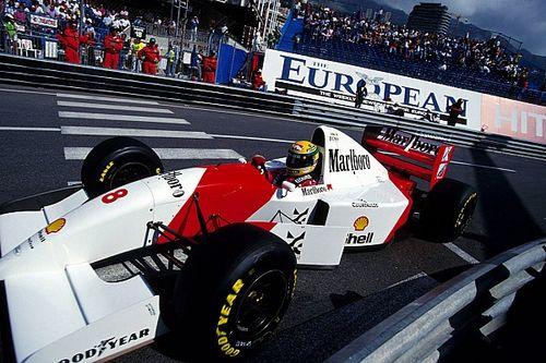 Ecclestone compra el Mclaren con el que Senna ganó en Mónaco por última vez