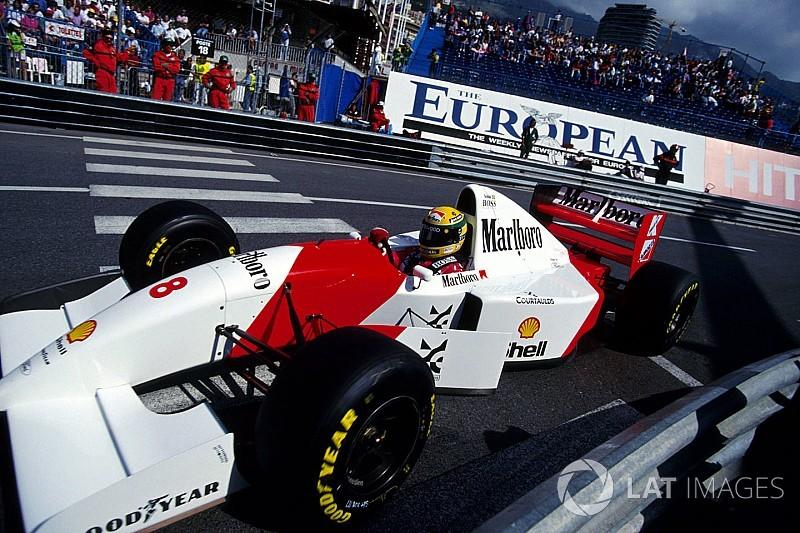 Ecclestone compró el McLaren ganador de Senna en Mónaco '93