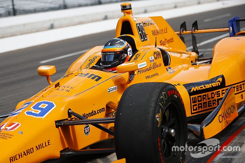 Alonso says IndyCar test will not decide 2019 plans