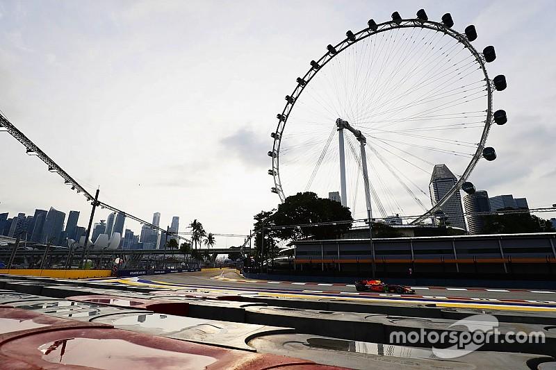 Онлайн. Гран При Сингапура: первая тренировка