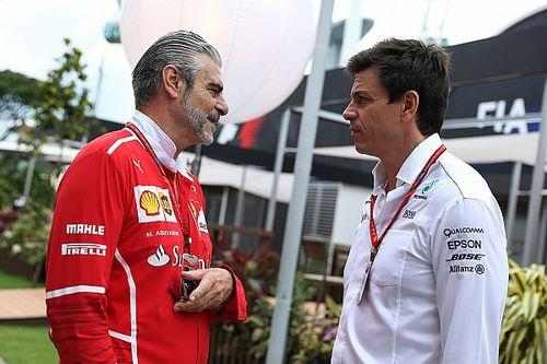 "Wolff: ""Medelijden met Ferrari na startcrash"""