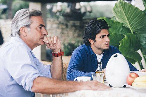 """Sainz sobre el debut de su hijo: """"El mejor consejo que le di fue: disfruta"""""""