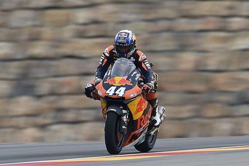 Oliveira obtuvo una pole con suspenso en Moto2