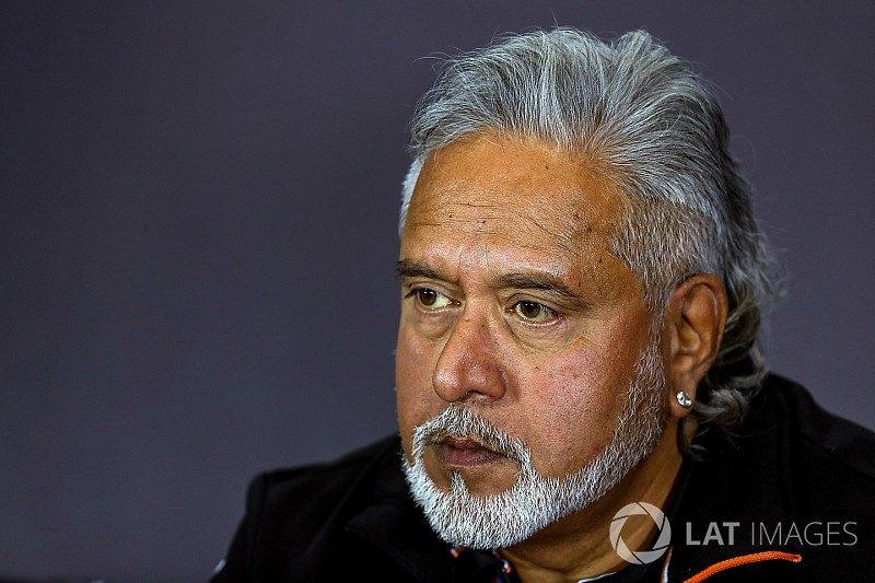Extradition will have no effect on Force India, says Mallya