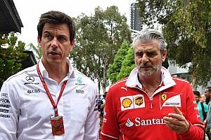 Fórmula 1 Análisis Ferrari vs. Mercedes: empieza la guerra psicológica