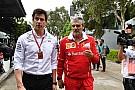 Mercedes lamenta el mal momento de Ferrari