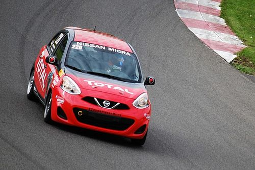 Fans invited to test drive a genuine Nissan Micra Cup race car