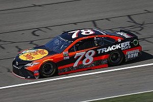 NASCAR Cup Race report Truex wins second stage of Auto Club 400