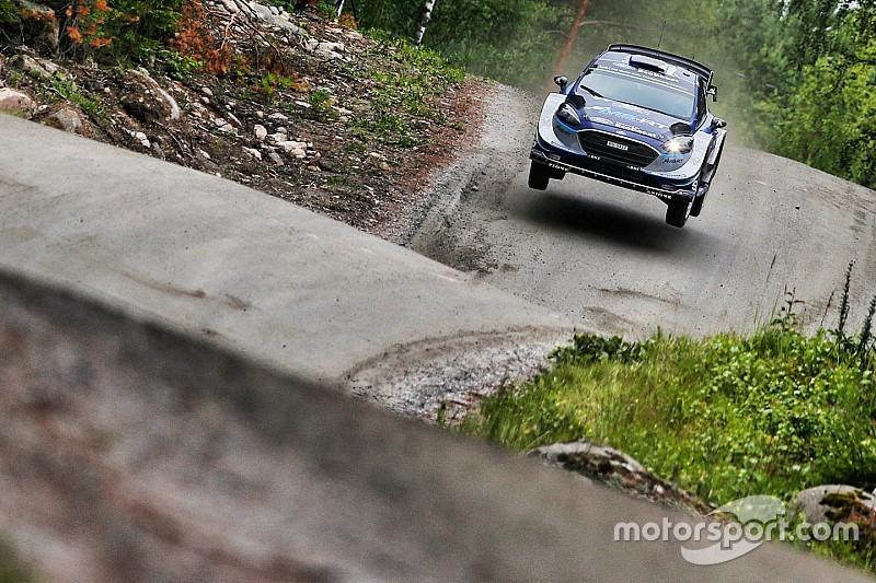 WRC Finland: Tanak grijpt de leiding na eerste korte proef