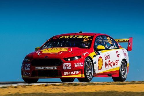 Perth Supercars: Coulthard leads Penske front row lockout