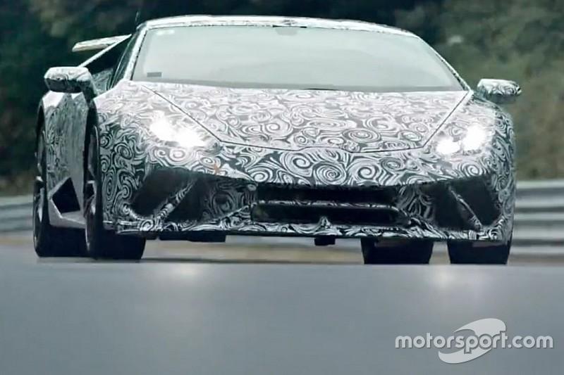 Vidéo - La Lamborghini Huracan sur le Nürburgring