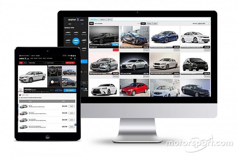 Motor1.com eröffnet neues Portal für Neu- und Gebrauchtwagen