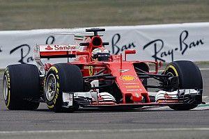 Erste Bilder: Kimi Räikkönen bei der Jungfernfahrt des Ferrari SF70H