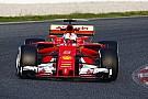 Ferrari: silenzio dei piloti fino al rispettivo secondo giorno di test!