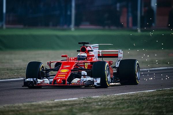 F1 Noticias de última hora Raikkonen rueda con el nuevo Ferrari SF70H