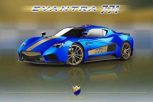 Mazzanti Evantra 771, al Motor Show aumenta la potenza