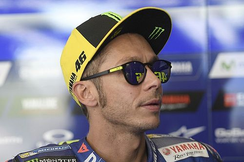 """Rossi bezig met herstel: """"Doe alweer lichte oefeningen"""""""