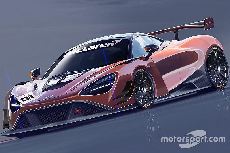 McLaren presentará el nuevo modelo 720S GT3 para 2019