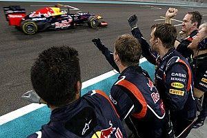 Cuando ganó el tricampeonato, Vettel revirtió desventaja mayor que la actual
