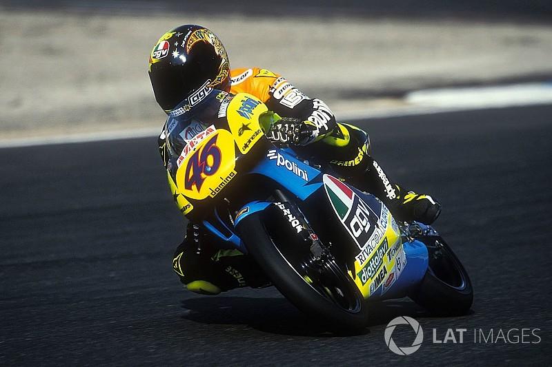 Valentino Rossi erinnert sich: Erster 125er-Test war ein Schock