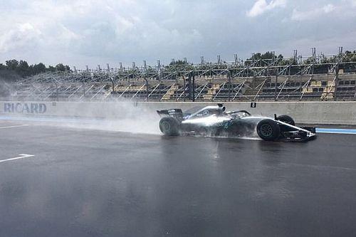 Test Pirelli: Bottas promuove le rain per il 2019 al Paul Ricard