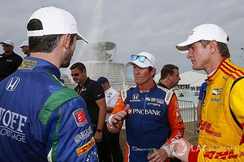 Hunter-Reay, Rossi praise Dixon for matching Andretti win tally