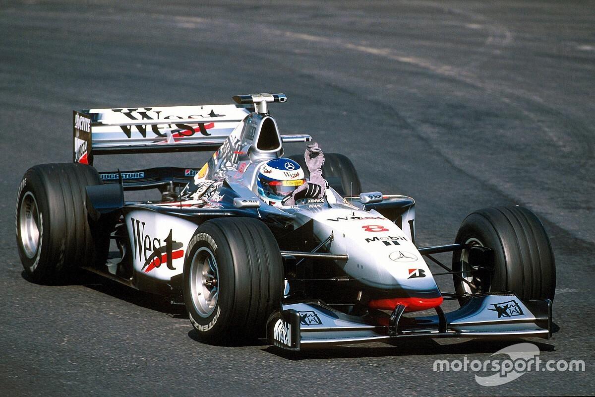 98年F1王者マシンMP4-13が鈴鹿に登場。ハッキネンのドライブが決定