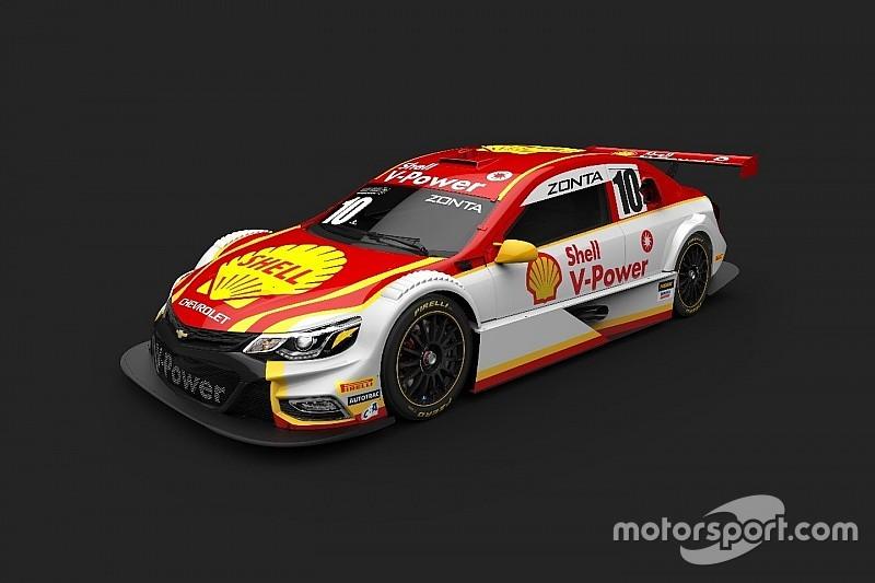 No aniversário da Stock Car, Shell Racing adota visual retrô