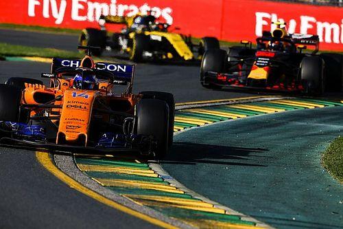 Boullier: Hedefimiz Renault motoru kullanan takımlara yakın olmak
