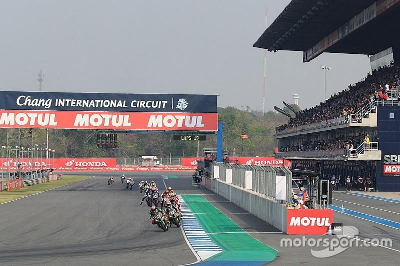 Hoe laat begint de MotoGP Grand Prix van Thailand?