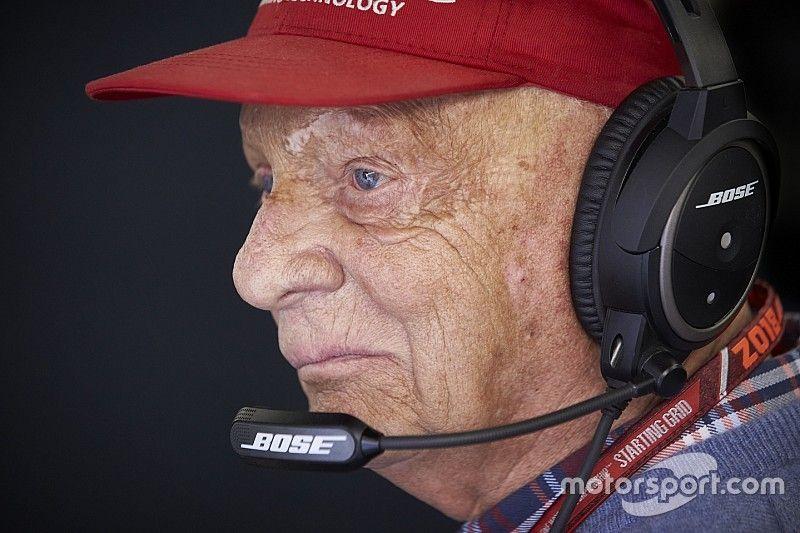 """Lauda muestra una """"mejora continua"""", según el hospital de Viena"""