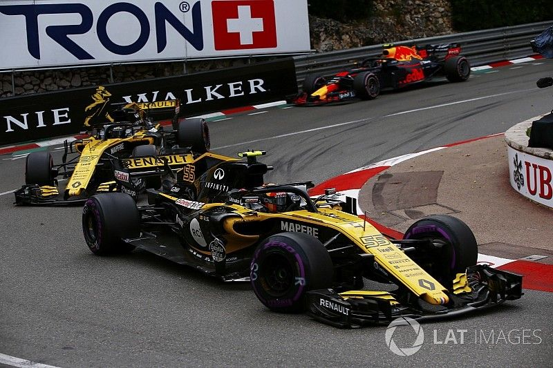 Renault defiende la estrategia que uso con Sainz en Mónaco