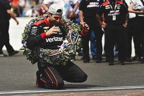 Power schreeuwde zich door laatste ronde Indy 500