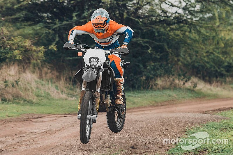 Independent rider Raorane to compete in PanAfrica Rally