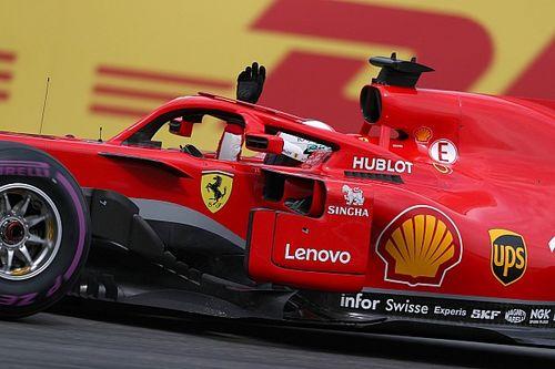 Fotogallery F1: Vettel e la Ferrari centrano la pole al GP di Germania, a Hockenheim