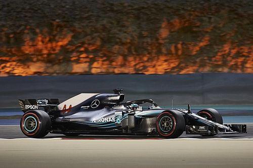 Hamilton, sin respuesta por el ritmo de Bahrein