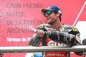 Crutchlow persembahkan kemenangan ke-750 untuk Honda