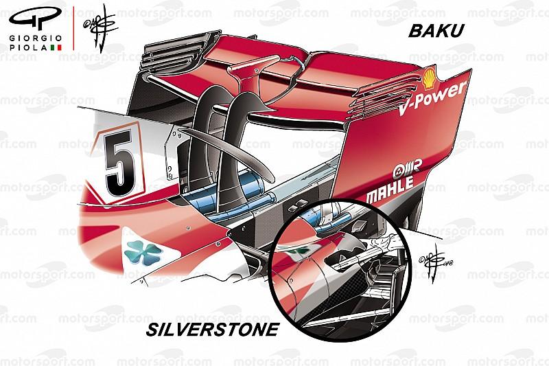 Los cambios que pusieron a Ferrari al frente en Silverstone