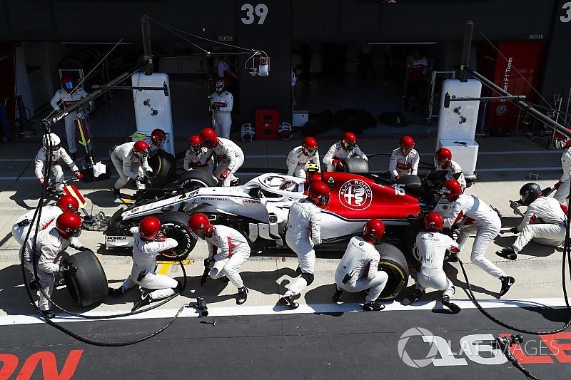 Diaporama: l'Alfa Romeo Sauber dans le Grand Prix de Grande-Bretagne