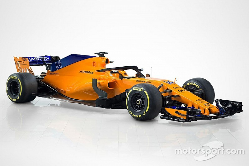 McLaren launches its 2018 Formula 1 car